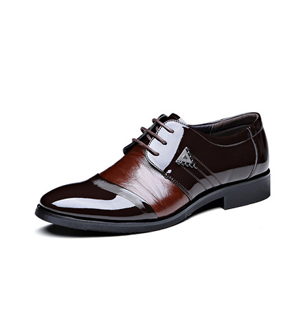 Spring Style Sharp Toe Men Business Leather Shoes
