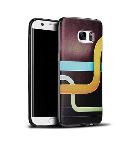Galaxy S7/S7 Edge/S6/S6 Edge Case With 3D Coloured Drawing