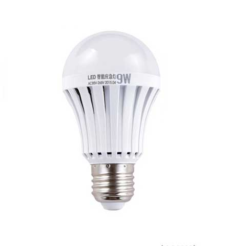9W Emergency Lighting LED Rechargeable Bulb Lamp