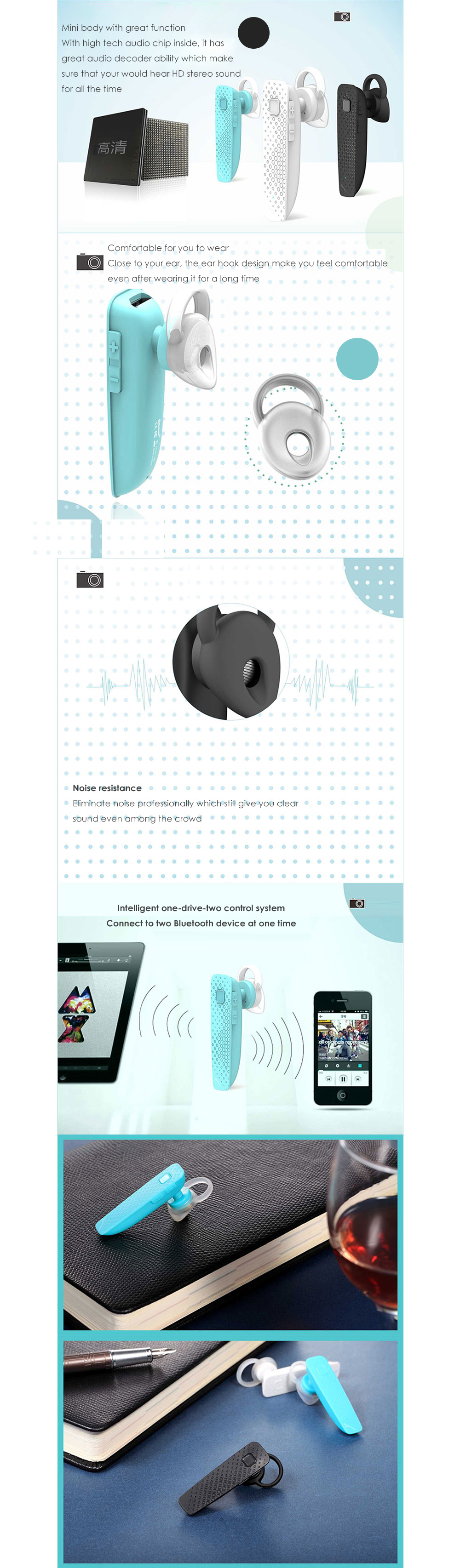 R539 Bluetooth Headphone