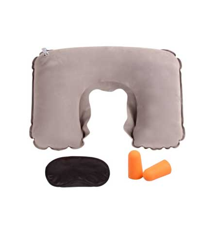 Eyeshade+U Shape Pillow+Earplug Pack