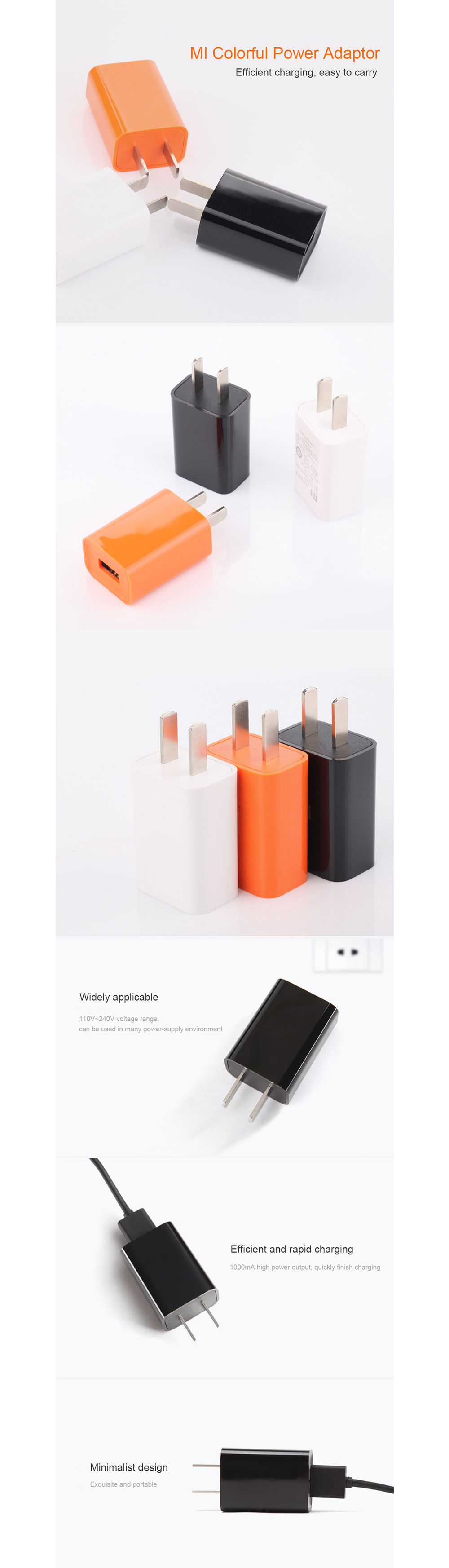 Xiaomi Colorful USB Power Charger in Pakistan