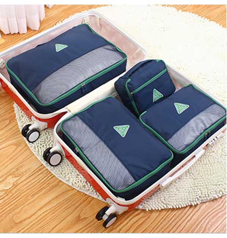 Travel Pouch Four Sets