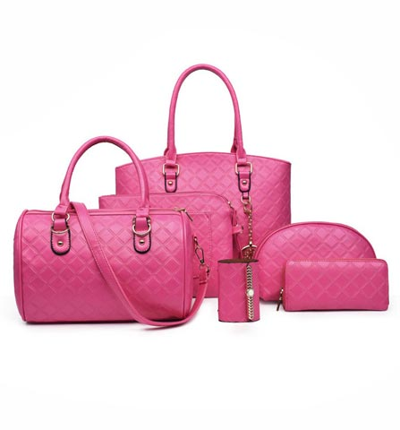 Ladies Bag 6 In 1
