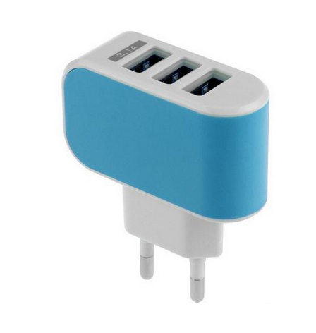 3 ports Charger