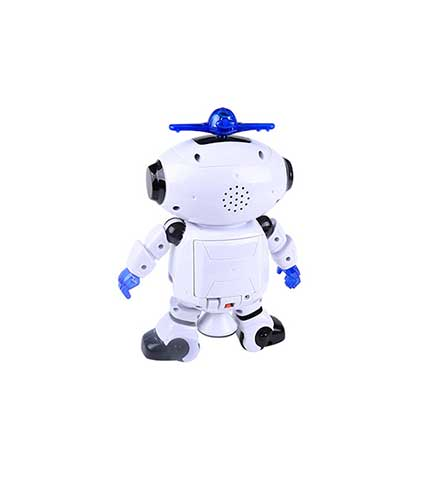 White Space Dancing Robot Toy