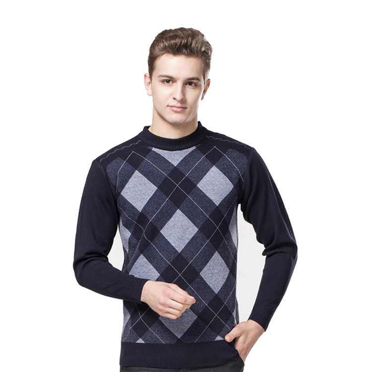 Men's Jacquard Sweatshirt