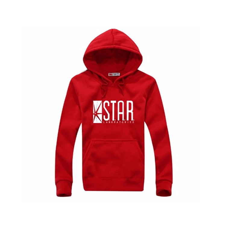 Thickened Star-printed Hoodies