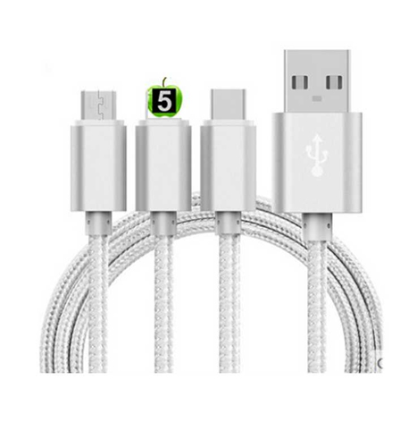 3 in 1 Data Cables