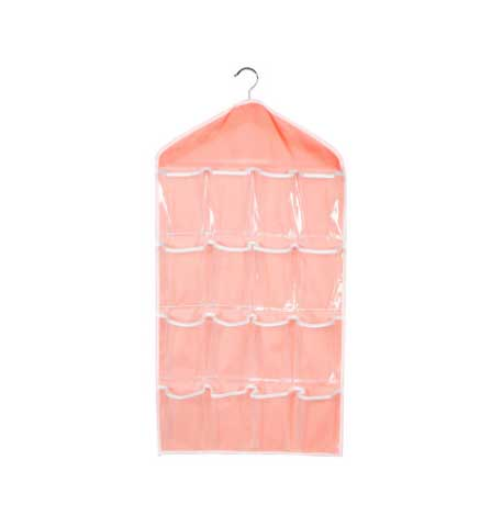 16 Lattice Hanging Storage Bag