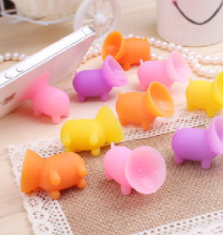 silicone animal shape phone stand